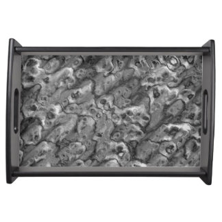 Black Marble Entertaining Party Food Tray