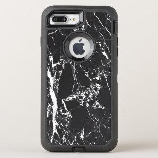 Black Marble Otterbox Defender Iphone 7 Plus Case