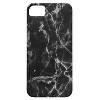 Black marble phone case cover