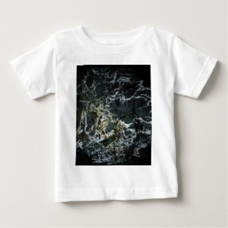 BLACK MARBLE ROCK Baby T-Shirt