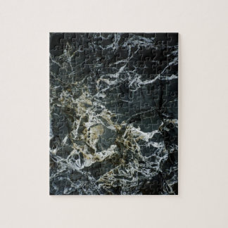 BLACK MARBLE ROCK Jigsaw Puzzle