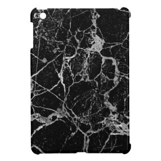 Black Marble with White Veining Cover For The iPad Mini