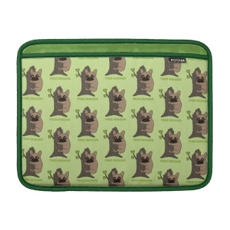 Black mask fawn Frenchie is a cute tree hugger Sleeve For MacBook Air