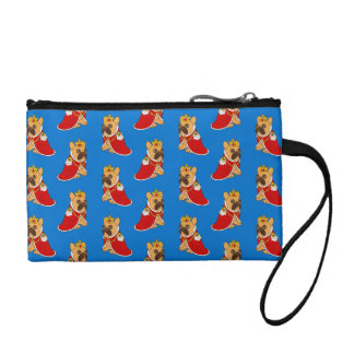 Black mask fawn Frenchie is the King of the house Coin Purse