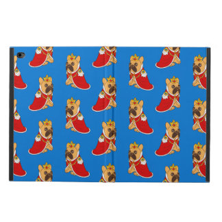 Black mask fawn Frenchie is the King of the house Powis iPad Air 2 Case