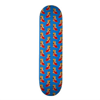 Black mask fawn Frenchie is the King of the house Skateboard Decks