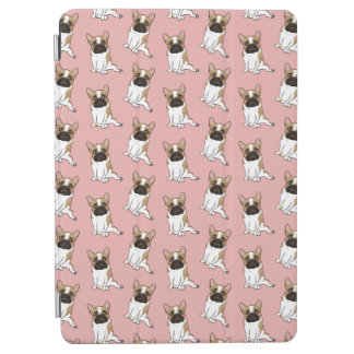 Black Mask Pied French Bulldog Wants Your Love iPad Air Cover