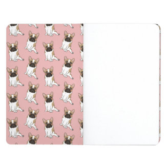 Black Mask Pied French Bulldog Wants Your Love Journal