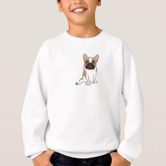 Black Mask Pied French Bulldog Wants Your Love Sweatshirt