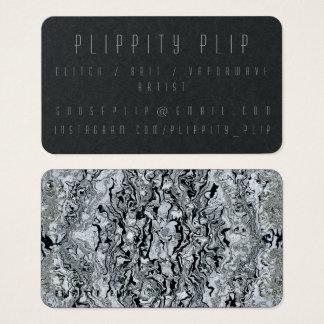 Black Mercury Soul Business Card
