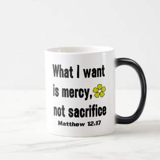 Black Mercy Not Sacrifice Magic Mug