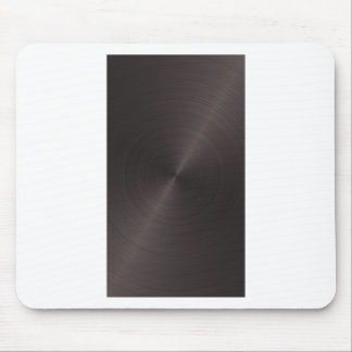 Black Metal Mouse Pad