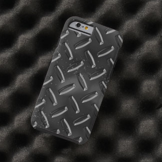 black metal textures tough iPhone 6 case