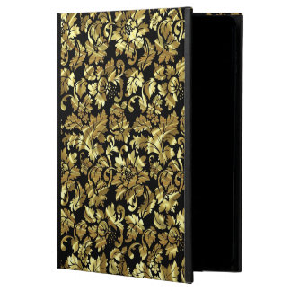 Black & Metallic Gold Vintage Damasks Powis iPad Air 2 Case