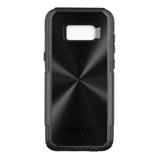 Black Metallic Look OtterBox Commuter Samsung Galaxy S8+ Case