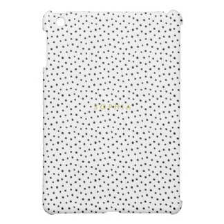 Black Mini Polka Dot iPad Mini Case