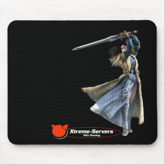 black mirgirl mat mouse pad