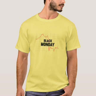 Black Monday Stock Market Shirt