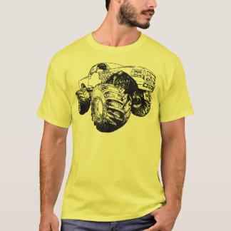 Black Monster Truck T-Shirt
