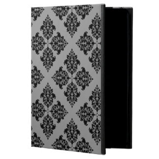 Black Moroccan Damask Case For iPad Air