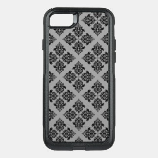 Black Moroccan Damask OtterBox Commuter iPhone 8/7 Case