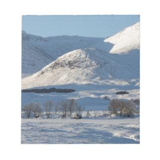 Black Mount , Scotland 8161 Notepad