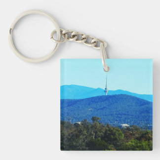 Black Mountain – Canberra Double-Sided Square Acrylic Keychain