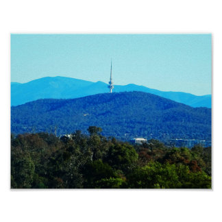 Black Mountain – Canberra Poster
