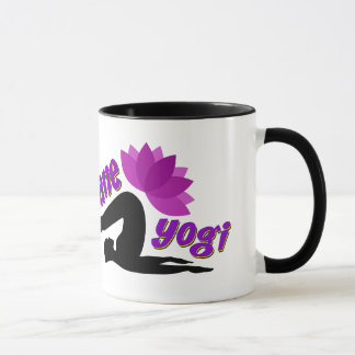 Black Mug with Insane Yogi sign