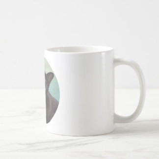 Black Murmese Cat Moose Coffee Mug