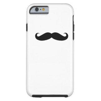 Black Mustache iPhone 6 Case Tough iPhone 6 Case