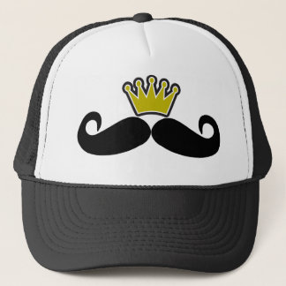 Black Mustache or Black Moustache for Fun Gifts Tr Trucker Hat