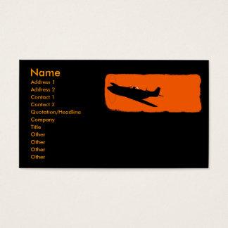 Black Mustang Business Card