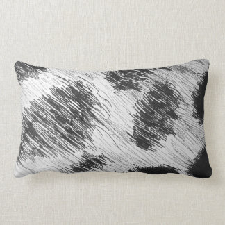 Black n White Animal Spotted Pillow
