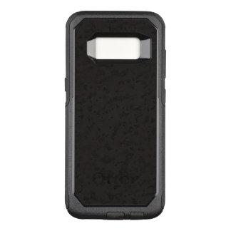 Black Natural Cork Bark Look Wood Grain OtterBox Commuter Samsung Galaxy S8 Case