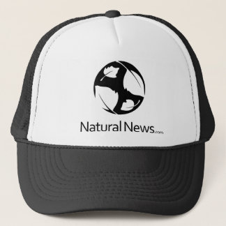 Black Natural News Trucker Hat