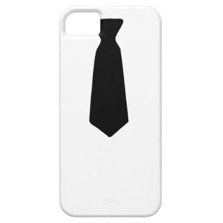 Black Necktie iPhone 5 Cover