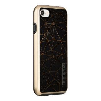 black nice royal beauty gold incipio DualPro shine iPhone 8/7 case