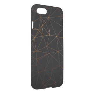 black nice royal beauty gold iPhone 8/7 case