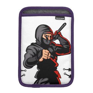 black ninja cartoon. iPad mini sleeves