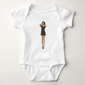 Black nurse baby bodysuit
