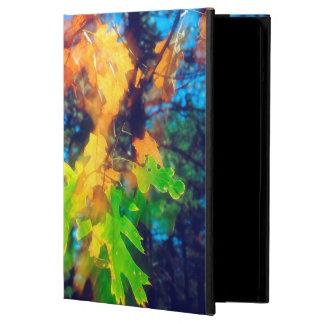 Black Oak Leaves blowing in the Wind iPad Air Covers