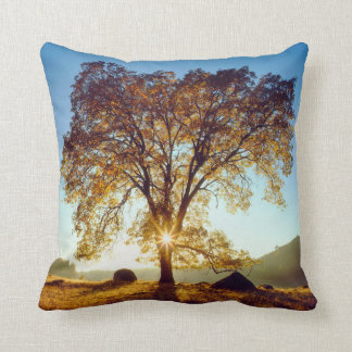 Black Oak Trees | Cleveland National Forest, CA Throw Pillow
