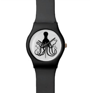 Black Octopus Watch