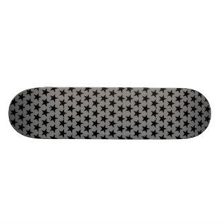 Black of star sample skate board deck