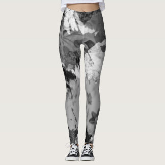 black oil slick womens leggings
