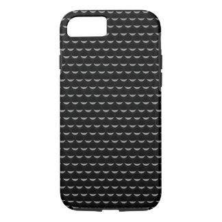 Black on Black Automotive Pattern iPhone 7 Case