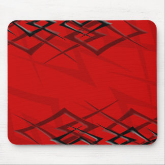 "Black on Red ""Thorn"" Mousepad"