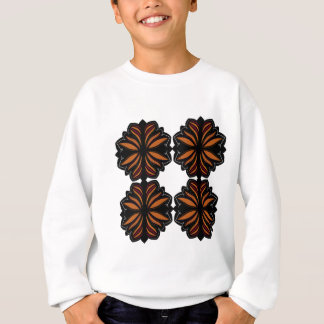 Black on white design elements sweatshirt