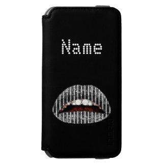 Black Onyx lips  iPhone6 Incipio Walletcase Incipio Watson™ iPhone 6 Wallet Case